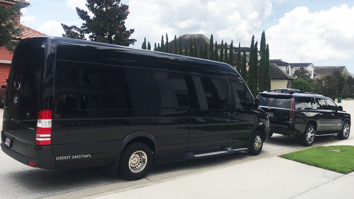 San Bernardino Party Bus Rentals